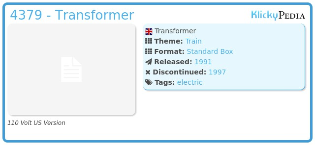 Playmobil 4379 - Transformer