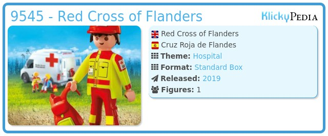 Playmobil 9545 - Red Cross of Flanders