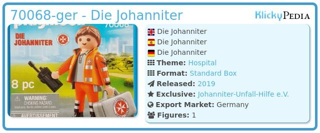 Playmobil 70068-ger - Die Johanniter