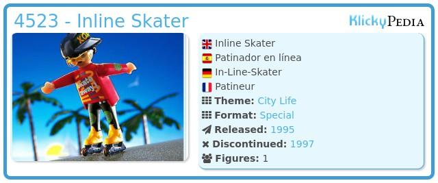 Playmobil 4523 - Inline Skater