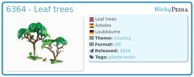 Playmobil 6364 - Leaf trees