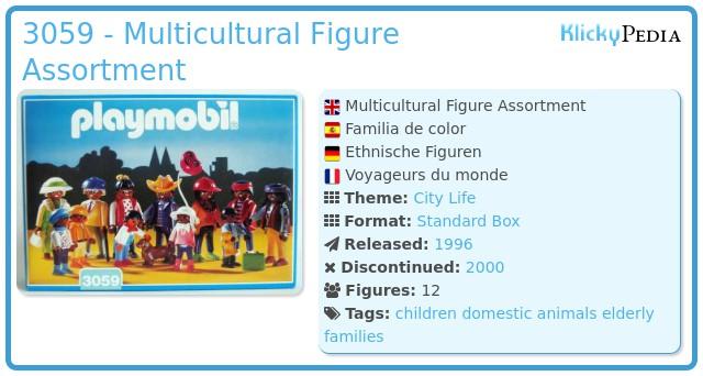 Playmobil 3059 - Multicultural Figure Assortment