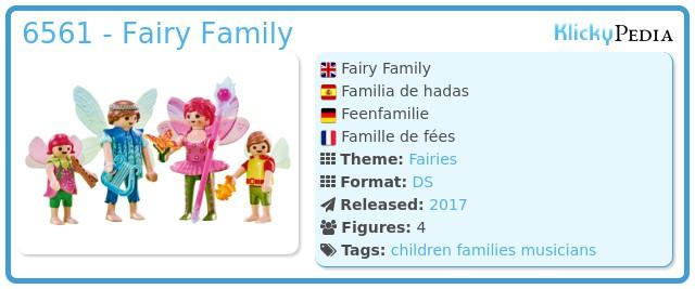 Playmobil 6561 - Fairy Family