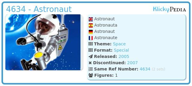 Playmobil 4634 - Astronaut