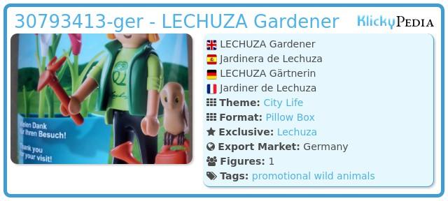 Playmobil 30793413-ger - LECHUZA Gardener