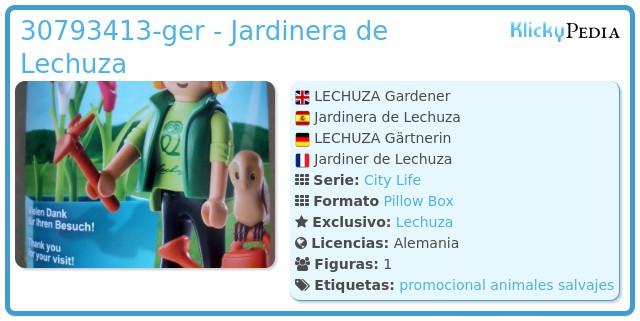 Playmobil 30793413-ger - Jardinera de Lechuza