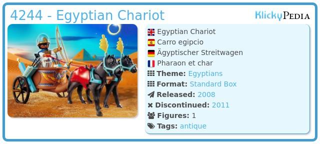 Playmobil 4244 - Egyptian Chariot