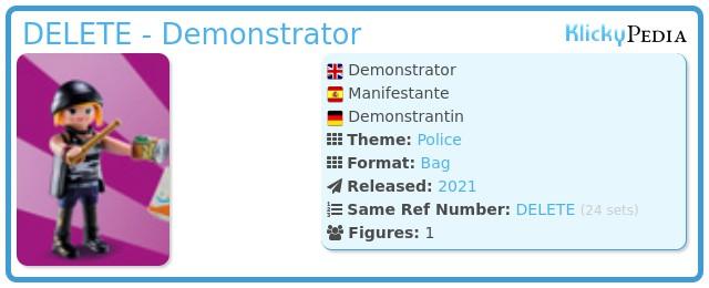 Playmobil 70149-01 - Demonstrator
