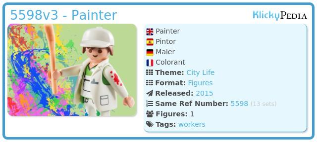 Playmobil 5598v3 - Painter