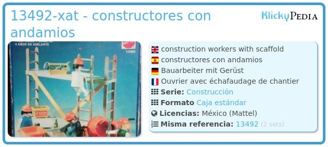 Playmobil 13492-xat - constructores con andamios