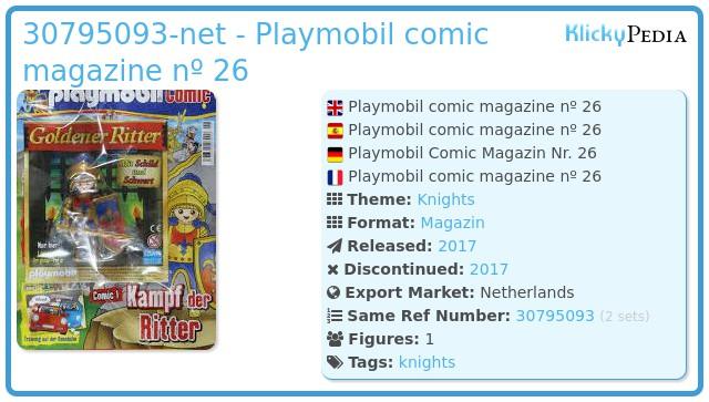 Playmobil 30795093-net - Playmobil comic magazine nº 26