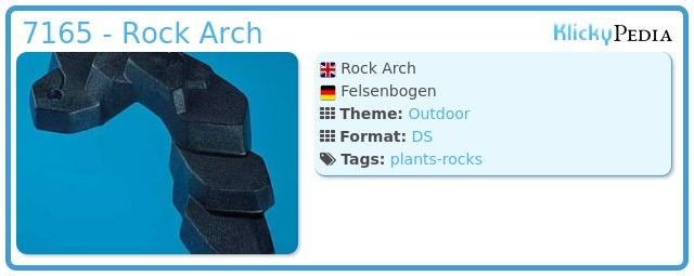 Playmobil 7165 - Rock Arch