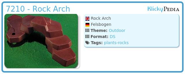 Playmobil 7210 - Rock Arch