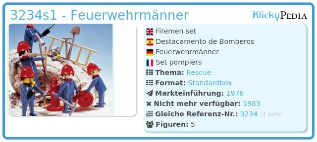 Playmobil 3234s1 - Feuerwehrmänner