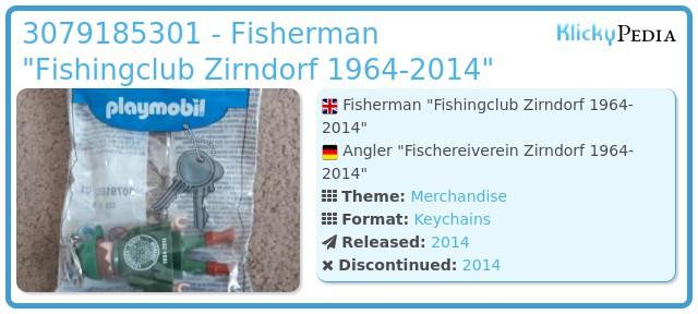 Playmobil 3079185301 - Fisherman