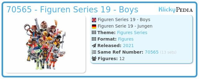 Playmobil 70565 - Figures Series 19 - Boys