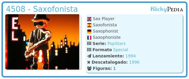 Playmobil 4508 - Saxofonista