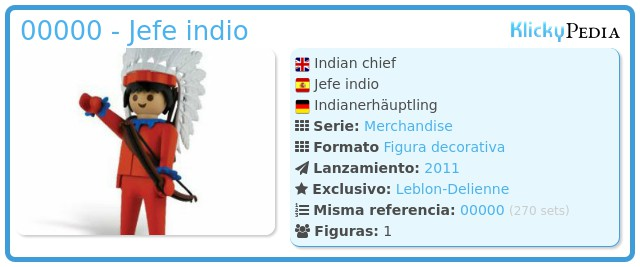 Playmobil 00000 - Jefe indio