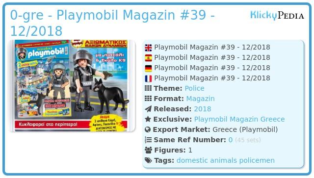 Playmobil 0-gre - Playmobil Magazin #39 - 12/2018