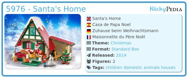 Playmobil 5976 - Santa's Home