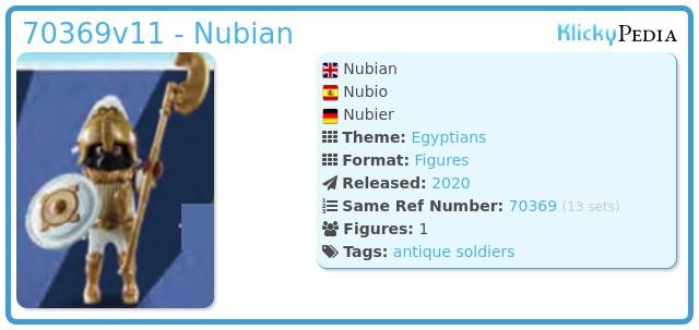 Playmobil 70369v11 - Nubian