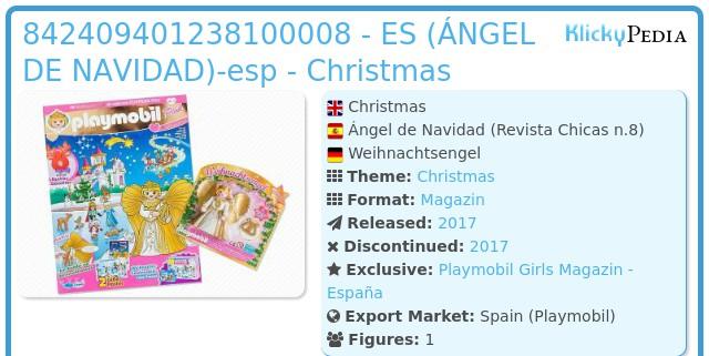 Playmobil 842409401238100008 - ES (ÁNGEL DE NAVIDAD)-esp - Christmas