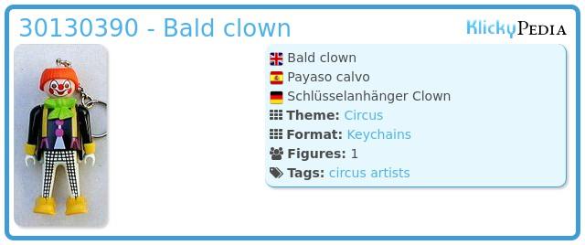 Playmobil 30130390 - Bald clown