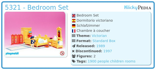 Playmobil 5321 - Bedroom Set