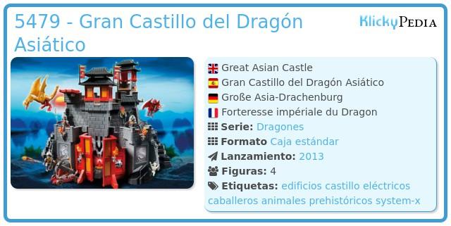 Playmobil 5479 - Gran Castillo del Dragón Asiático