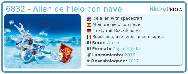 Playmobil 6832 - Alíen de hielo con nave