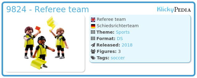 Playmobil 9824 - Referee team
