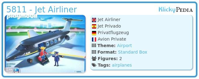 Playmobil 5811 - Jet Airliner