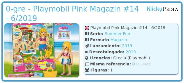 Playmobil 0-gre - Playmobil Pink Magazin #14 - 6/2019