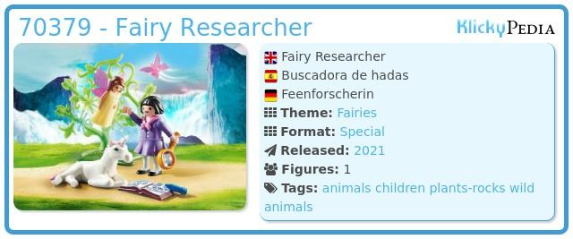 Playmobil 70379 - Fairy seeker