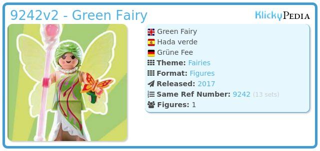 Playmobil 9242v2 - Green Fairy