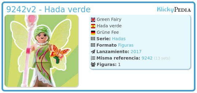 Playmobil 9242v2 - Hada verde