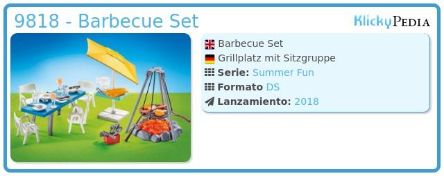 Playmobil 9818 - Barbecue Set