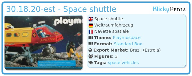Playmobil 30.18.20-est - Space shuttle