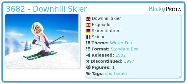 Playmobil 3682 - Downhill Skier