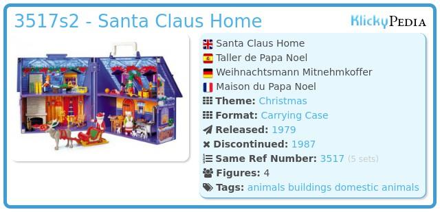 Playmobil 3517s2 - Santa Claus Home