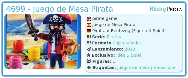 Playmobil 4699 - Juego de Mesa Pirata