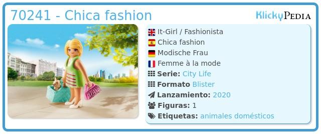 Playmobil 70241 - Chica chic