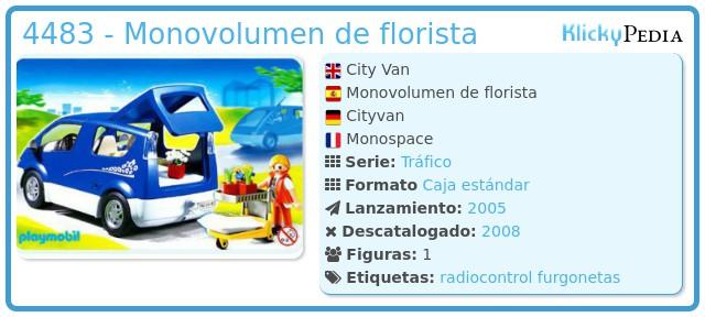 Playmobil 4483 - Monovolumen de florista