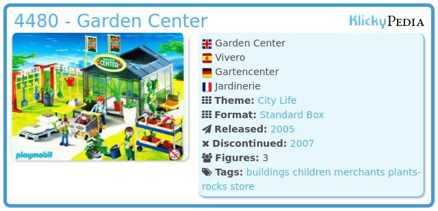 Playmobil 4480 - Garden Center