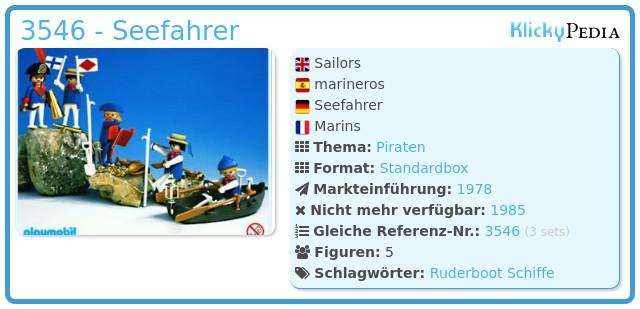 Playmobil 3546 - Seefahrer