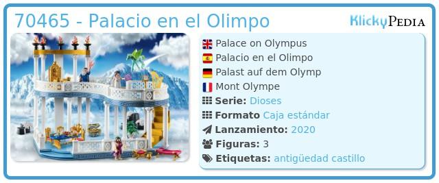 Playmobil 70465 - Palacio en el Olimpo