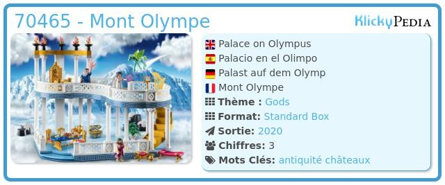 Playmobil 70465 - Mont Olympe