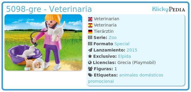 Playmobil 5098-gre - Veterinaria