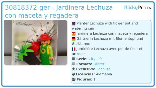 Playmobil 30818372-ger - Jardinera Lechuza con maceta y regadera