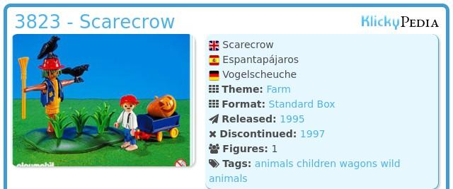 Playmobil 3823 - Scarecrow